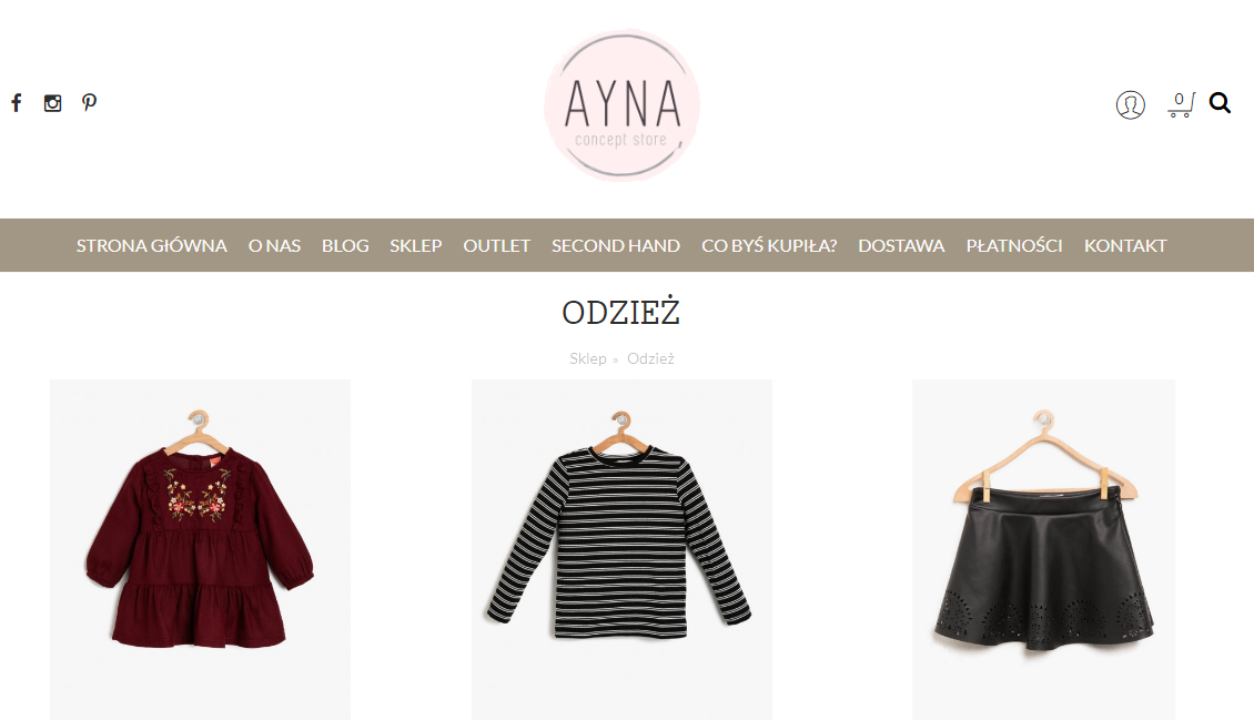 ayna concept page